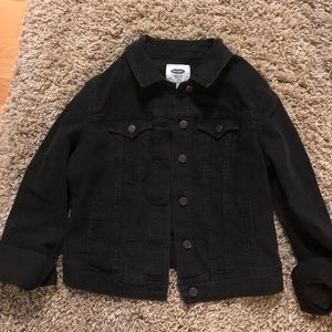 Old Navy black jean jacket